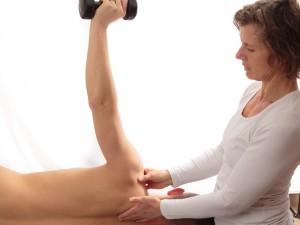 Fysiotherapiebehandeling van Geraldine Otter